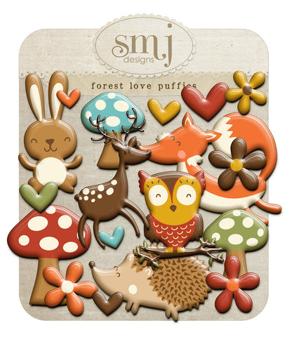 Forest Love Puffies