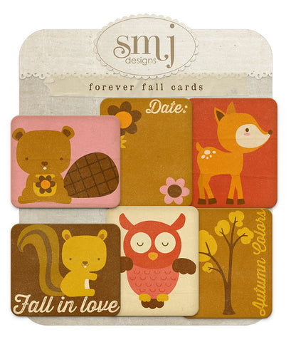 Forever Fall Cards