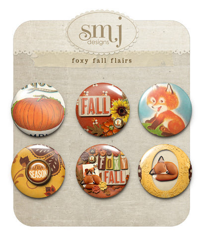 Foxy Fall Flairs