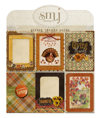 Giving Thanks Cards