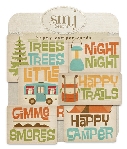 Happy Camper Cards