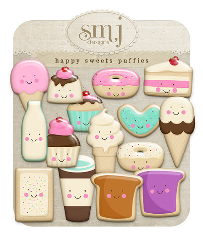 Happy Sweets Puffies