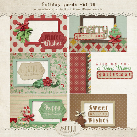 Holiday Cards Vol 15