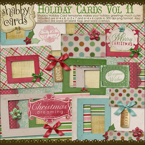 Holiday Cards Vol 11