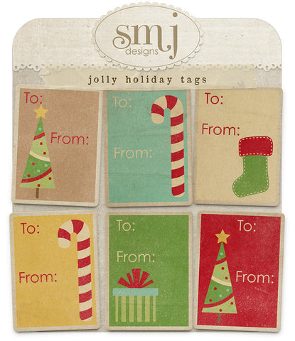 Jolly Holiday Tags
