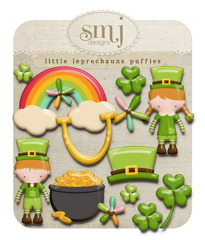 Little Leprechauns Puffies