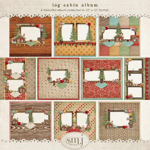 Log Cabin Album