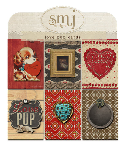 Love Pup Cards