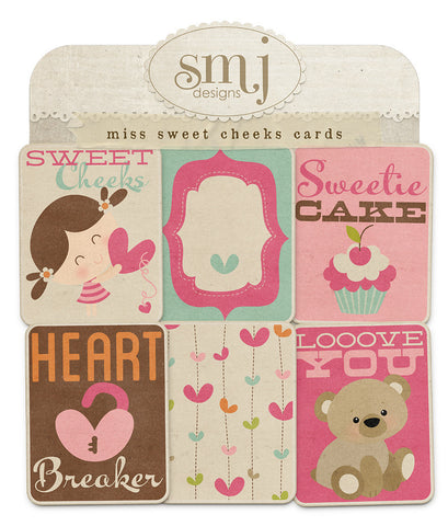 Miss Sweet Cheeks Cards