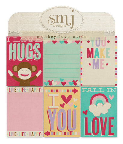 Monkey Love Cards