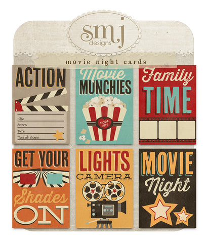 Movie Night Cards