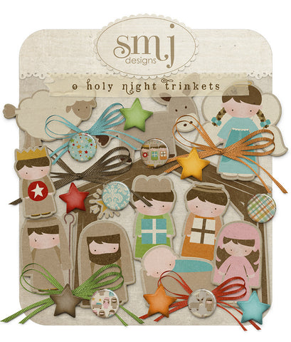 O Holy Night Trinkets