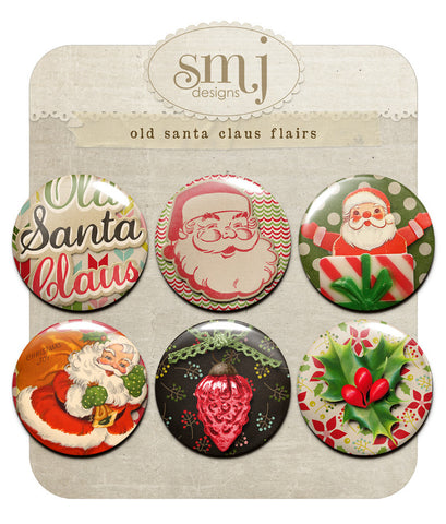 Old Santa Claus Flairs