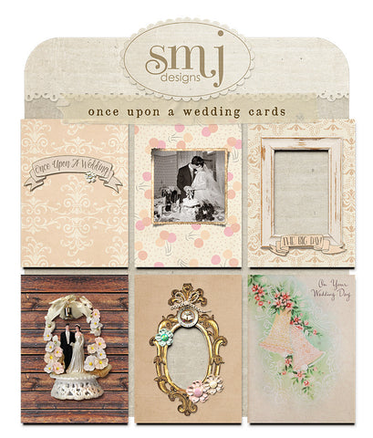 Once Upon A Wedding Cards