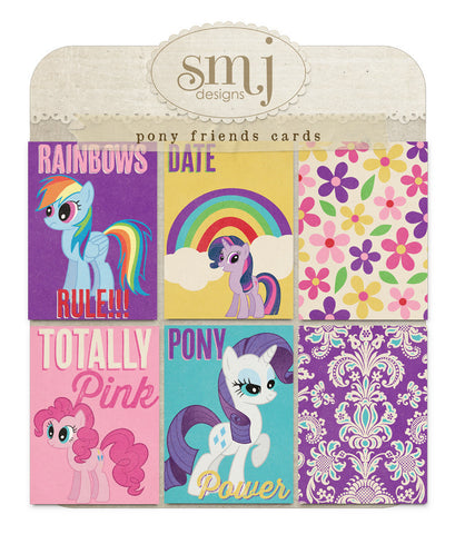 Pony Friends Cards