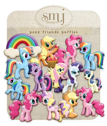 Pony Friends Puffies