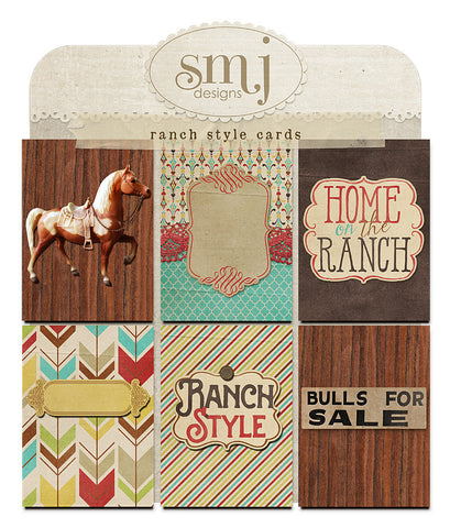 Ranch Style Cards