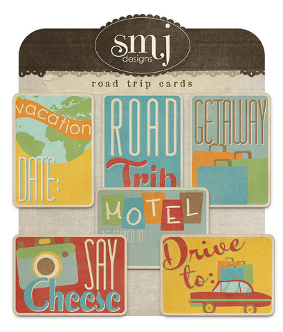 Road Trip Cards