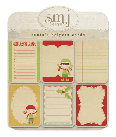 Santas Helpers Cards