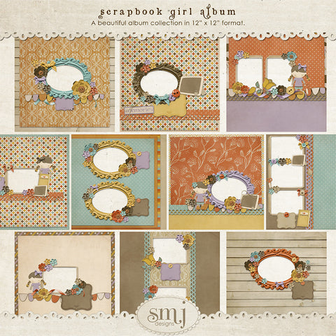 Scrapbook Girl Album