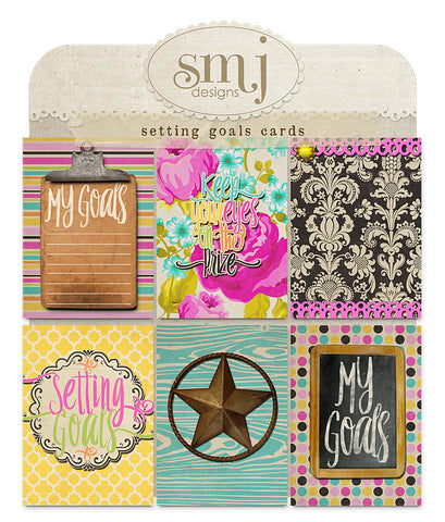 Setting Goals Cards