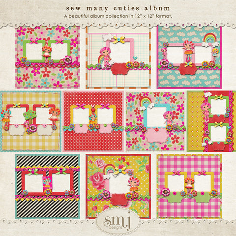 Sew Many Cuties Album