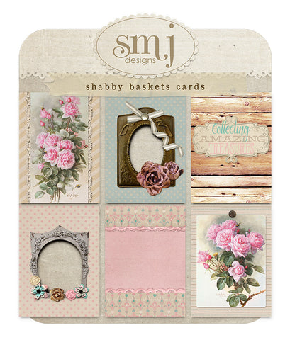 Shabby Baskets Cards