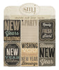 Shabby New Years Cards