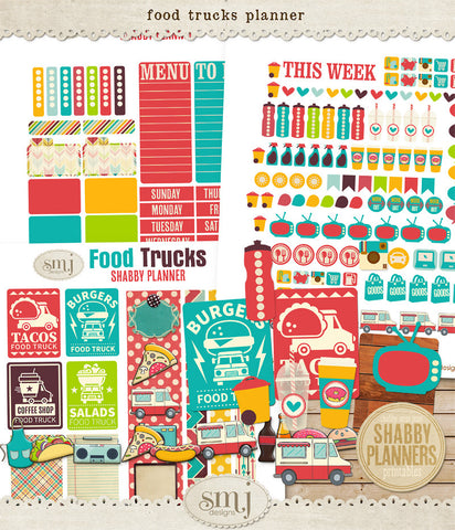 Shabby Planner Food Trucks