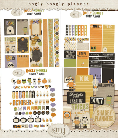 October Oogly Boogly Planner
