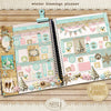 Shabby Planner Winter Blessings