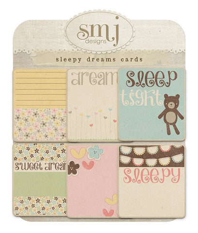 Sleepy Dreams Cards