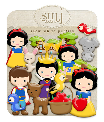 Snow White Puffies
