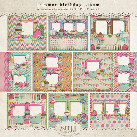 Summer Birthday Album
