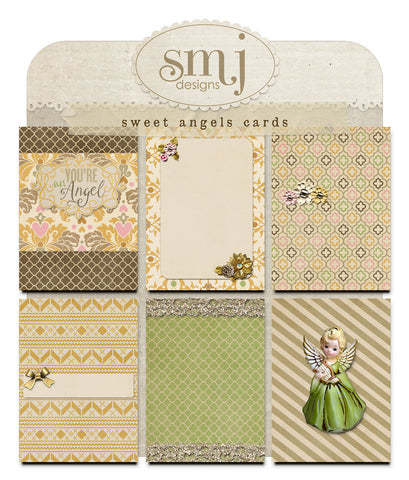 Sweet Angels Cards