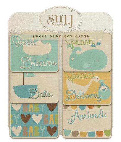 Sweet Baby Boy Cards