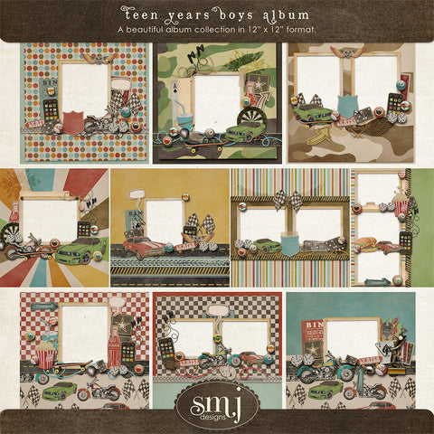 Teen Years Boys Album