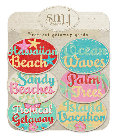 Tropical Getaway Cards