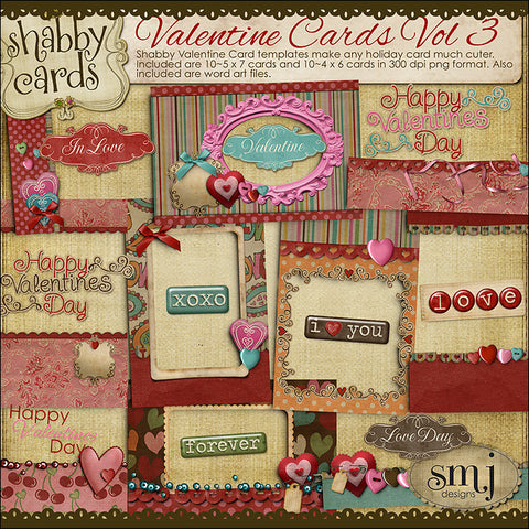 Valentine Cards Vol 3