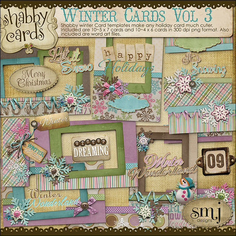 Winter Cards Vol 3