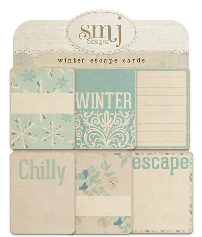 Winter Escape Cards