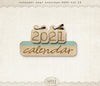 Calendar 2021 Year Overlays Vol 12