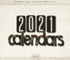 Calendar 2021 Year Overlays Vol 7