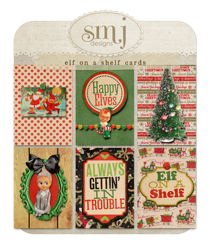Elf on a Shelf Cards