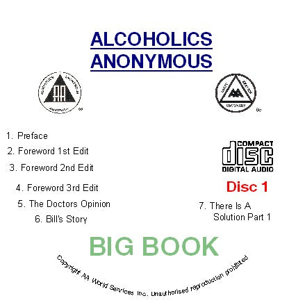 Big Book 3rd Edition 5 CD set