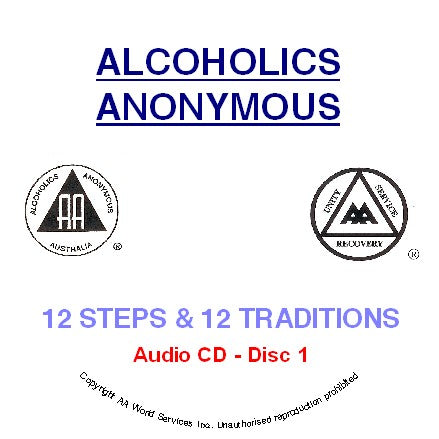 Twelve Steps and Twelve Traditions 4 CD set