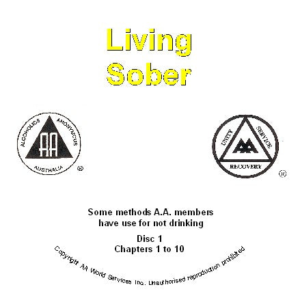 Living Sober 4 CD set