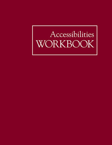 Accessibilities Workbook
