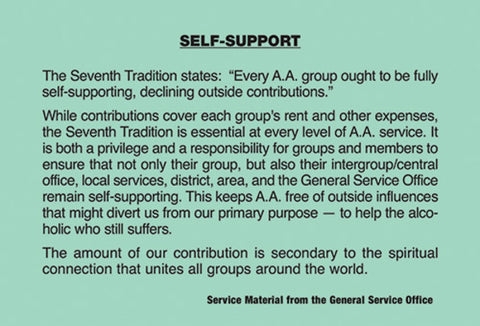 Service Self Support Card (ND)