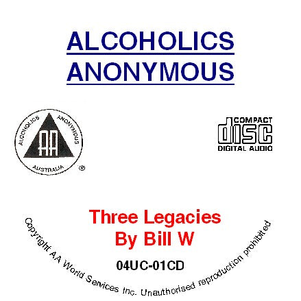 The Three Legacies by Bill CD